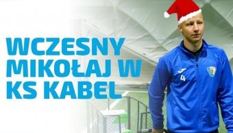 Mikołaj w KS Kabel zawitał trochę wcześniej